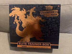 Pokemon TCG Champion/'s Path Elite Trainer Box Sealed *Read Description*