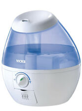 Details about VICKS Mini Filter Free Cool Mist VUL520W HUMIDIFIER Small Room Size 0.5 Gallon