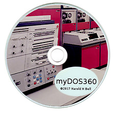 myDOS360 IBM Mainframe on Your PC Software Package - COBOL - FORTRAN
