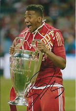 Jerome BOATENG Signed Autograph Photo AFTAL COA Bayern Munich Germany RARE