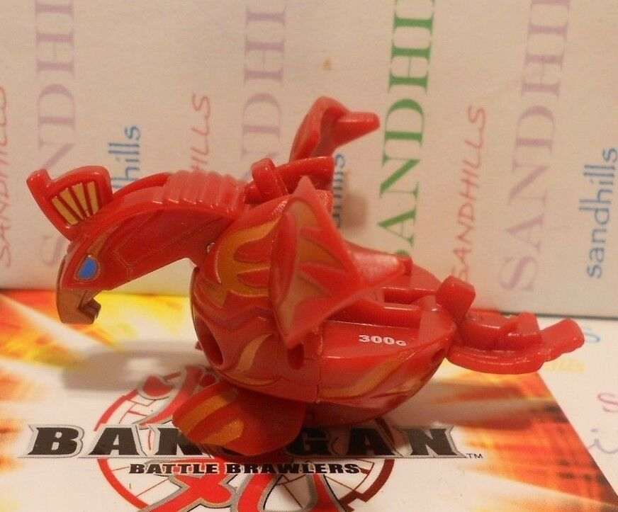 Bakugan Jump Skyress Red Pyrus B1 Classic Open Core 300G & cards