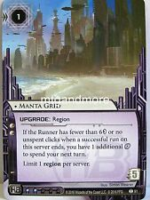 Android Netrunner LCG - 1x #091 Manta Grid - Martial Law