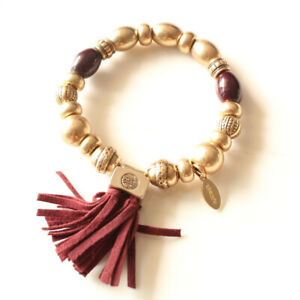 New-Chicos-Beads-Bracelet-Elastic-Gift-Fashion-Women-Party-Holiday-Show-Jewelry