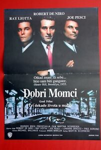 GOOD FELLAS ROBERT DE NIRO MARTIN SCORSESE 1990 PESCI RARE ...