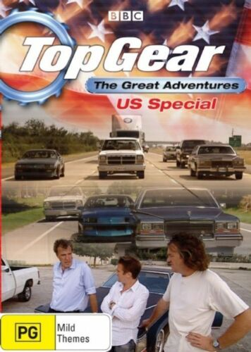 1 of 1 - Top Gear -  The Great Adventures - US Special (DVD, 2008)