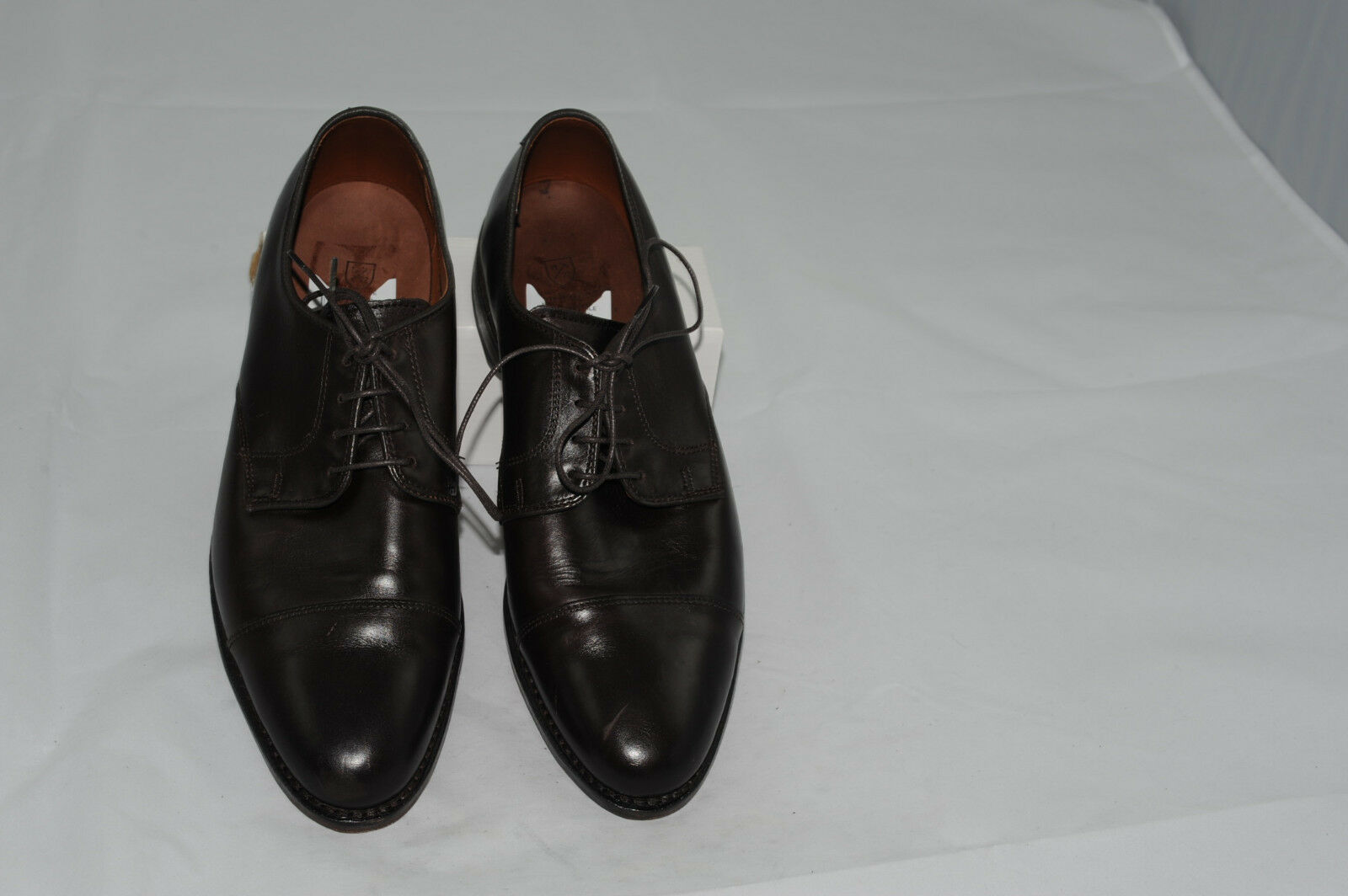 Allen Edmonds Riverside Men's Cap Toe Oxford Dress Leather shoes 10 D