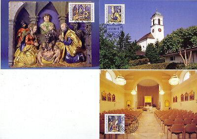 Liechtenstein Mk 163 Michelnummer 1183-1185 europa:15543 Ausgezeichnet Im Kisseneffekt