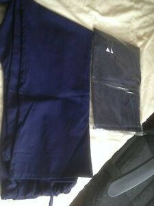 MEN-S-NEW-NAVY-BLUE-WORK-TROUSERS-SET-OF-2-SIZE-MEDIUM-BARGAIN
