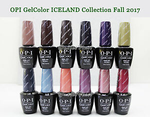 Image Is Loading Opi Soak Off Gelcolor Iceland 2017 Fall Collection