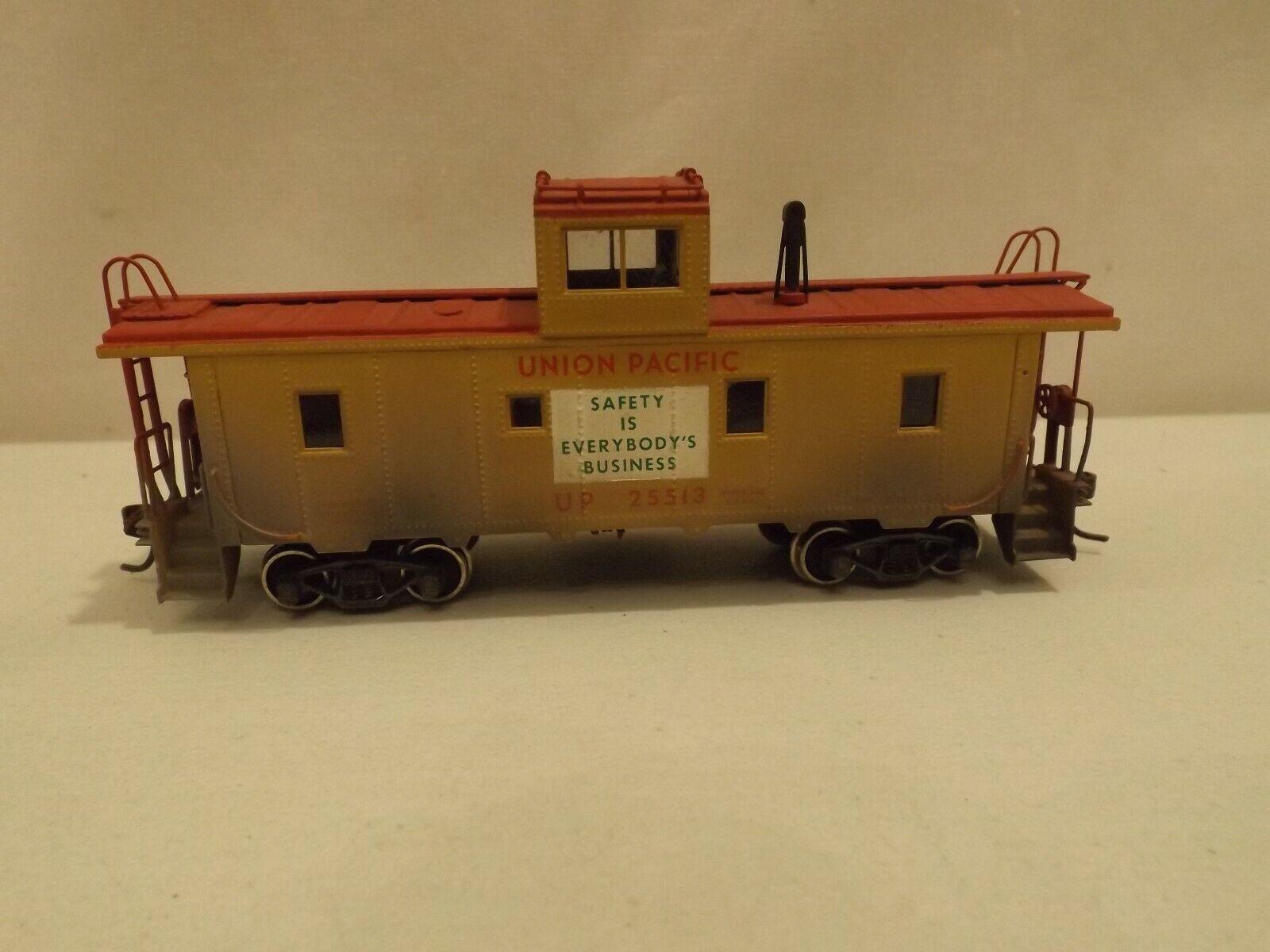 Ho Balboa Latón Unión Pacific CA-4 furgón de cola Acero en Caja Original