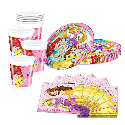 Childrens Extras Tableware Decoration Character Party Kits for 8
