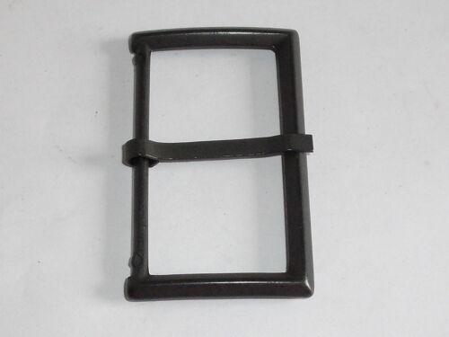 Gürtelschnalle Schließe Schnalle Verschluss  5 cm schwarz NEU rostfrei #342.2#