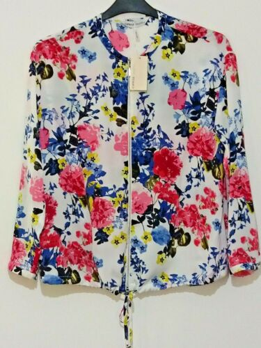 New Simply Be floral bomber blouse size 14 to 22  ref M34 zip up floral jacket