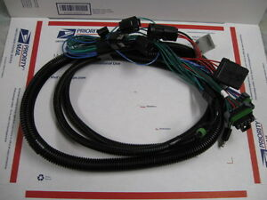 western fisher snow plow 3 port light wiring harness 28464 2b 2d hb2 headlights ebay