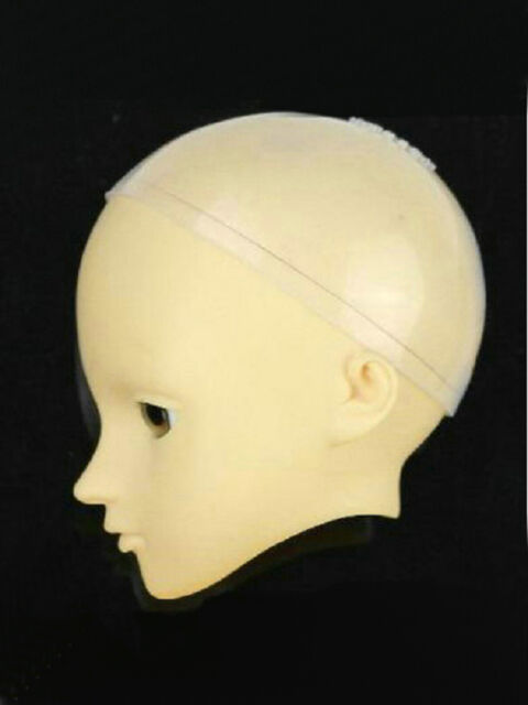BJD Head Silicone Wig Cap 9-10 inch Dollfie Doll Head Protection Cover
