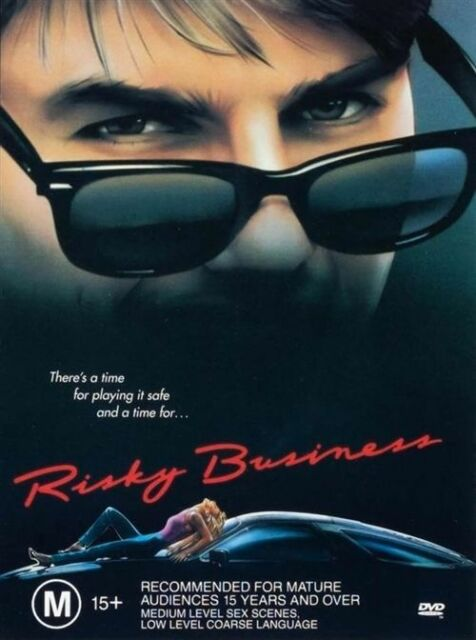 Risky Business  (R4 DVD)  Tom Cruise  GC  FREE POST