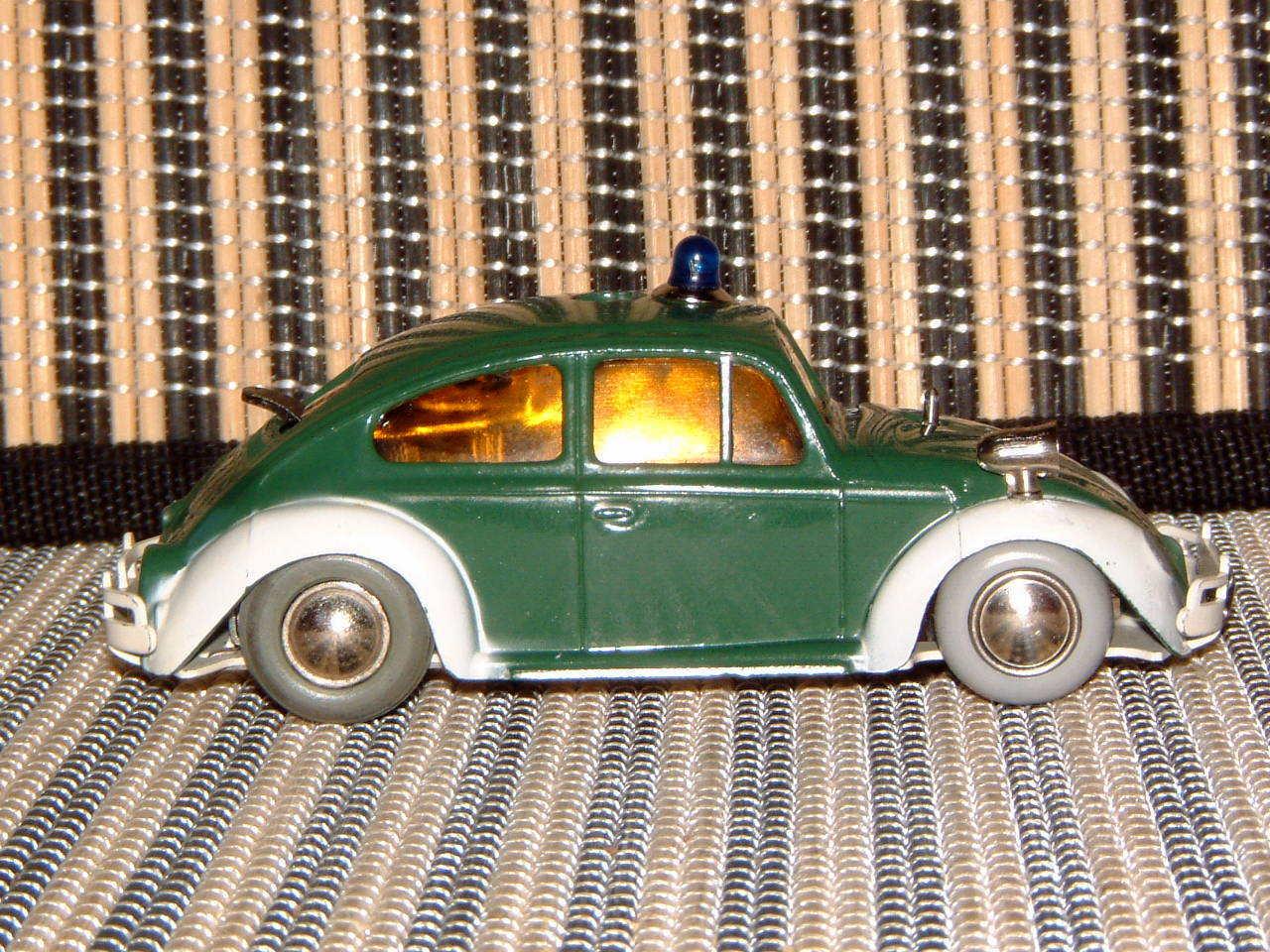 SCHUCO TELESTEERING VW POLICE BEETLE BEETLE BEETLE 3000, W PILLARS, KEY, STEERING WHEEL, BOX + 5e51b9