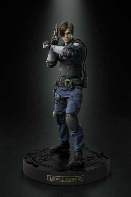 Resident Evil 2 Leon Limited Statue Collector S Remake Edition Gk