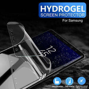 Hydrogel Film Full Coverage Screen Protector for Samsung Galaxy Note 9/8 S9 S8+