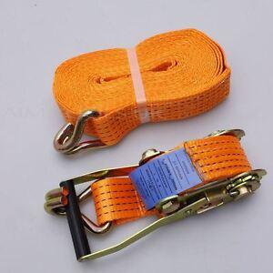451811A MERRY 5 Tonnes Sangle À Cliquet Corde Attache 10 M 50mm