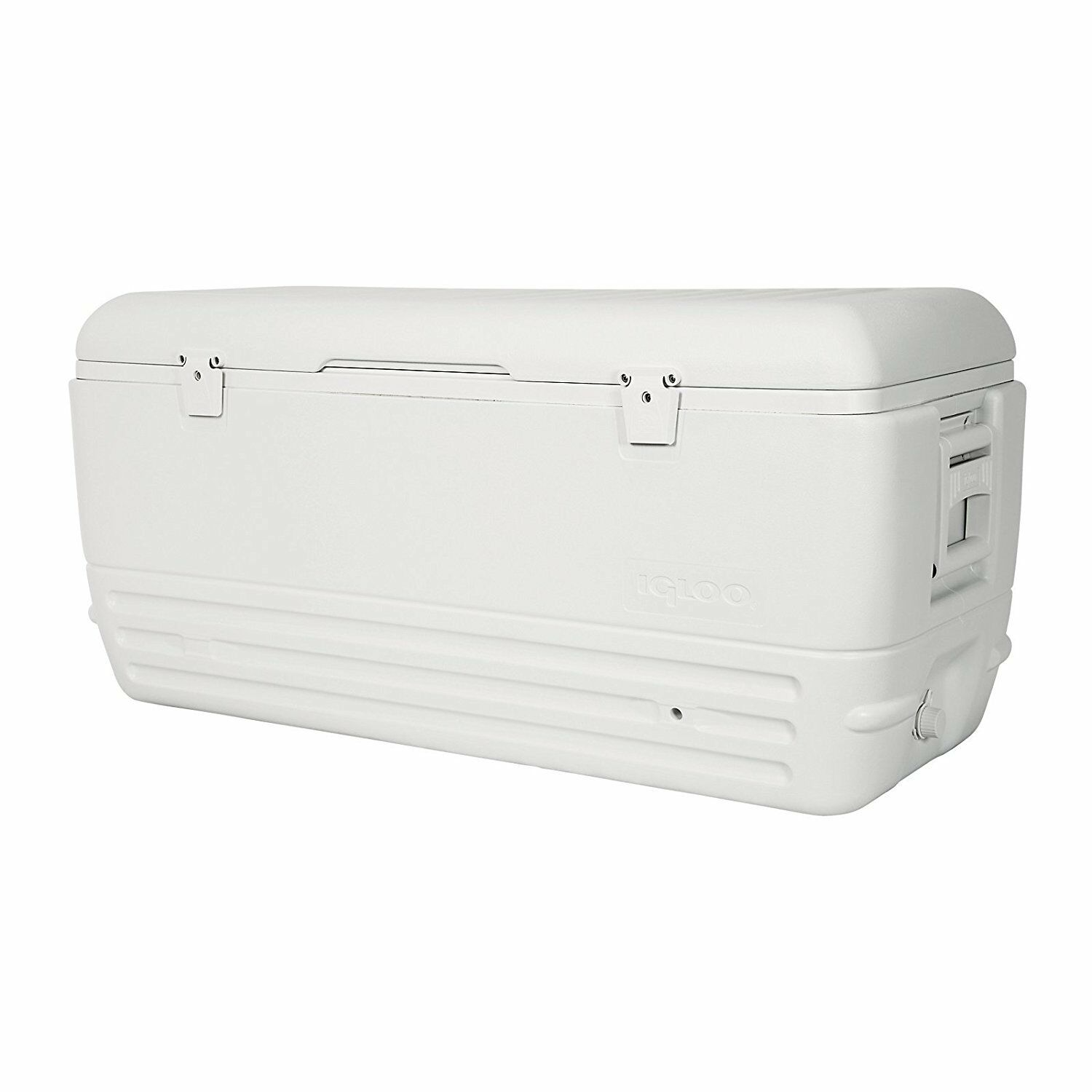 White Insulated Drink Cooler 150Qt 248 Can Storage Portable Camping  Ice Chest  famous brand