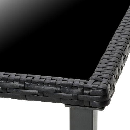 Poly Rattan Gartenmöbel Set Garnitur Sitzgarnitur Stühle Tisch Sitzgruppe 4+1