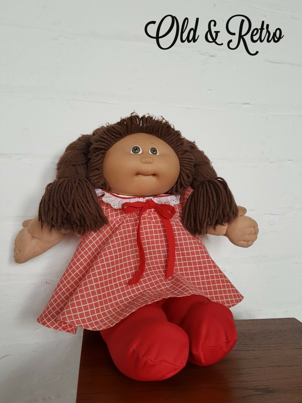 Super cute Vintage 1978/1982 Cabbage Patch Kids Doll Original Outfit.