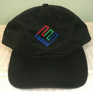 RARE Vintage ENRON Logo Baseball Cap Unisex Hat, Adjustable Fit, NEW, Free Ship