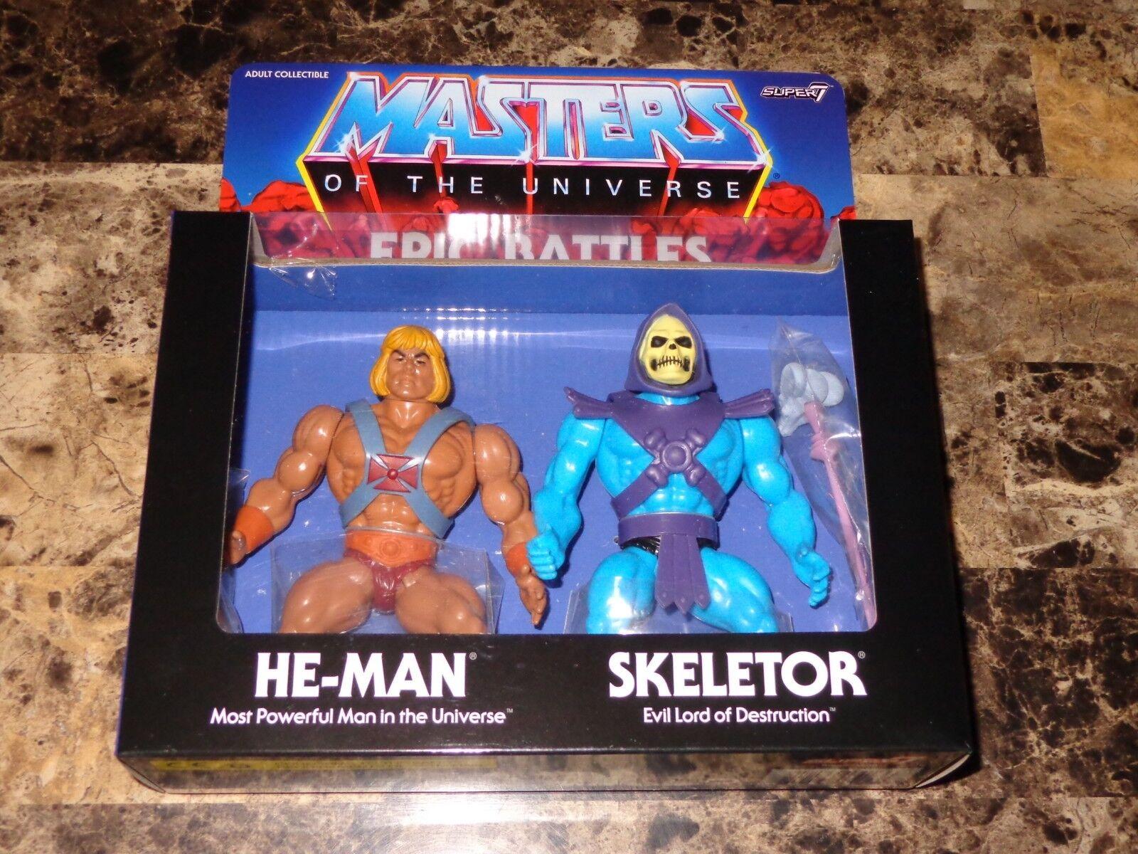 Masters Of The  Universe Rare He-uomo Skeletor Epic Battles azione cifra Set nuovo  a prezzi accessibili
