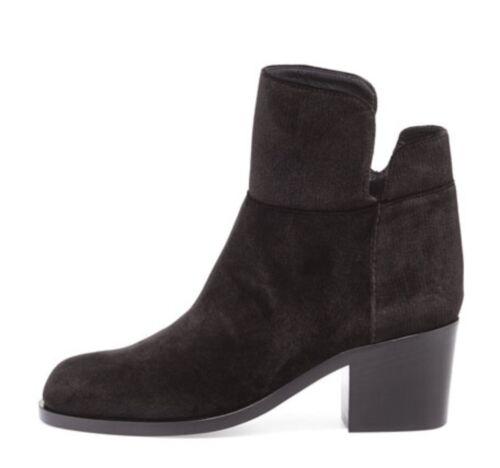 Laurence Dacade Velvet Low Equestrian Boots Black