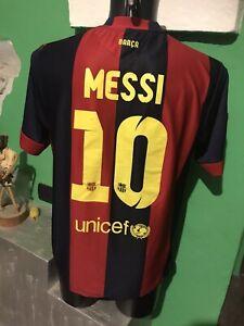 Messi-Barcellona-Football-Shirt-Camiseta-Liga-Jersey-Maglia
