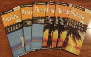Florida Highway Map.Florida Highway Map Universalmap Kappa Paper New Ebay