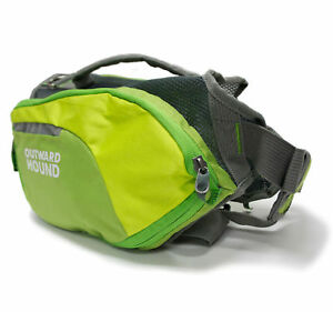 Outward-Hound-Dog-Backpack-DayPak-Green-SMALL-Hiking-Travel-Camping-Back-pack
