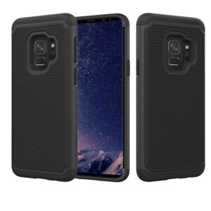 detailed look b15d6 2952d Details about Galaxy S9 Case Ballistic 2-in-1 Dual Layer Hybrid Defender  Shockproof Hard Armor