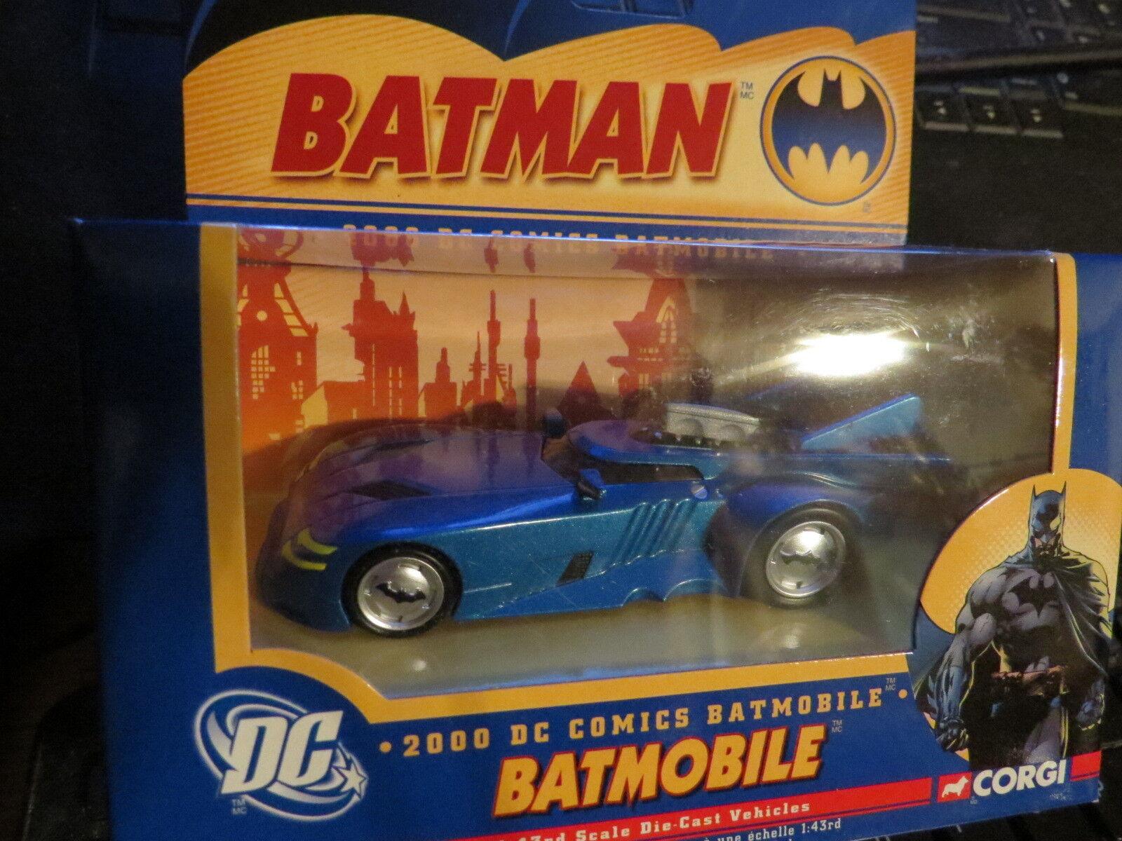 Corgi 1   43 batman batmobil electric Blau 77349 seltensten schwer zu finden brandneu