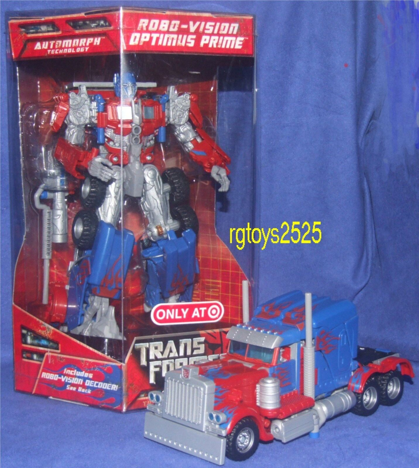 Transformers Exclusive Optimus Prime RID nuovo RoboVision Factory Sealed