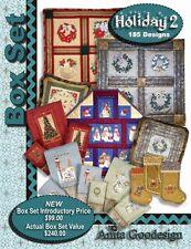 Anita Goodesign Baby Box Set 1 Embroidery Machine Design CD NEW BX004