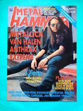 ►Polish magazine Metal Hammer 1991 Lars Ulrich Metallica Mind Funk Van Halen