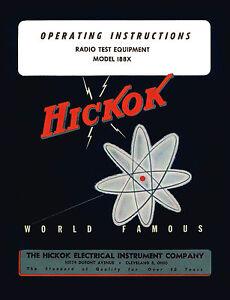Hickok 292X Signal Generator Operators Manual