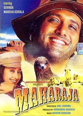 MAHARAJA (GOVINDA, MANISHA KOIRALA) ~ BOLLYWOOD HINDI DVD