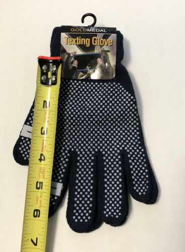 NEW Texting Gloves by Gold Medal-Push-Out Finger Tips Keep Warm while Texting