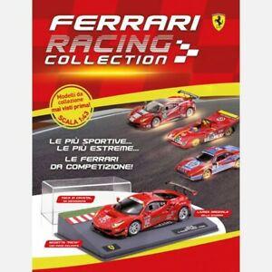 FERRARI-RACING-COLLECTION-SCALA-1-43-CENTAURIA-BOOKLET-VARIOUS-TO-SELECT