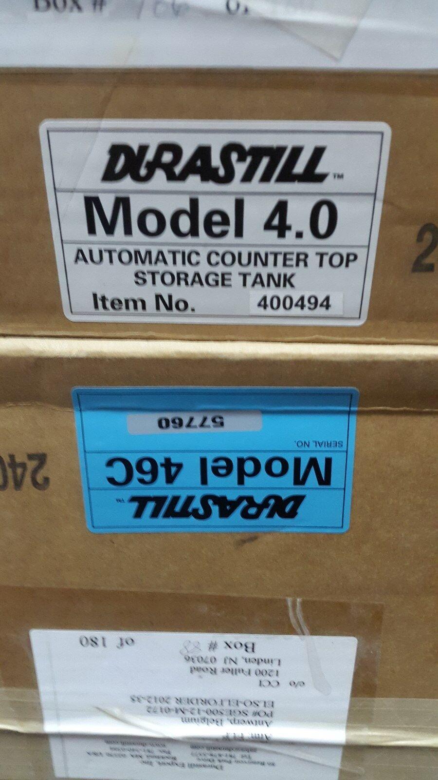 Durastill 46 C et durastill 4.0 New Open Box