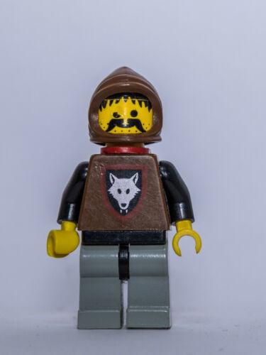 LEGO ®-Minifigur Castle Wolfpack aus Set 6038 6075 6086 6105 cas252