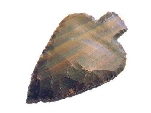 Pfeilspitze in Blattform Arrowhead Pointes Fleche Punta freccia Nachbau