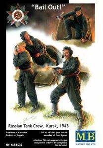 Masterbox-1-3-5-Scala-Kit-Modello-Personaggi-Russian-Tankmen-Kursk-1943
