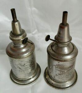 2 Anciennes Lampes à Pétrol Pur Jus Du Grenier