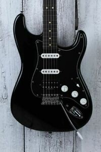Fender Squier 2013 Vintage Modified Stratocaster HSS Electric Guitar Black Gloss