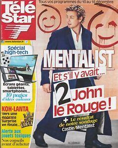 Tv Star / 05-12-2011 N° 1836: Simon Baker - Johnny Depp / Vanessa Paradis