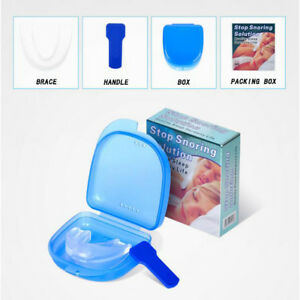 Stop-Snoring-Mouthpiece-Apnea-Aid-Sleep-Bruxism-Anti-Snore-Grind-Mouth-Guard-NEW